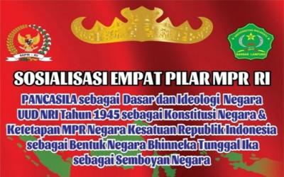 Sosialisasi 4 Pilar langsung oleh Ketua MPR RI